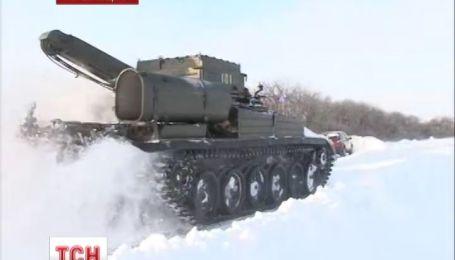 На Миколаївщині водії замерзають у заторах