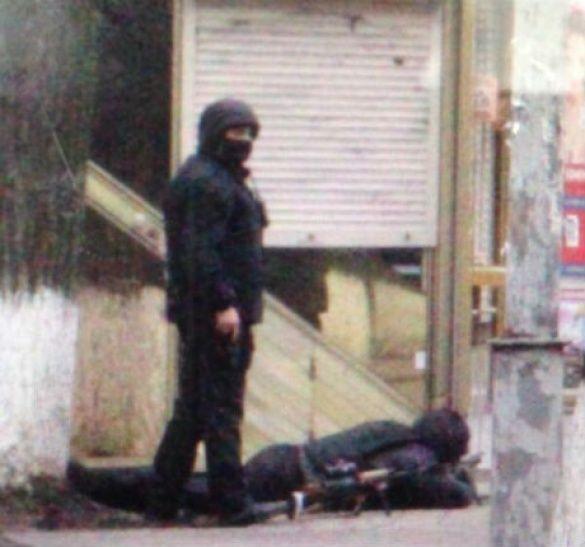 Снайпери в центрі Києва