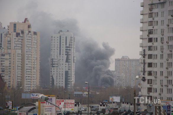 Пожежа у Києві_2