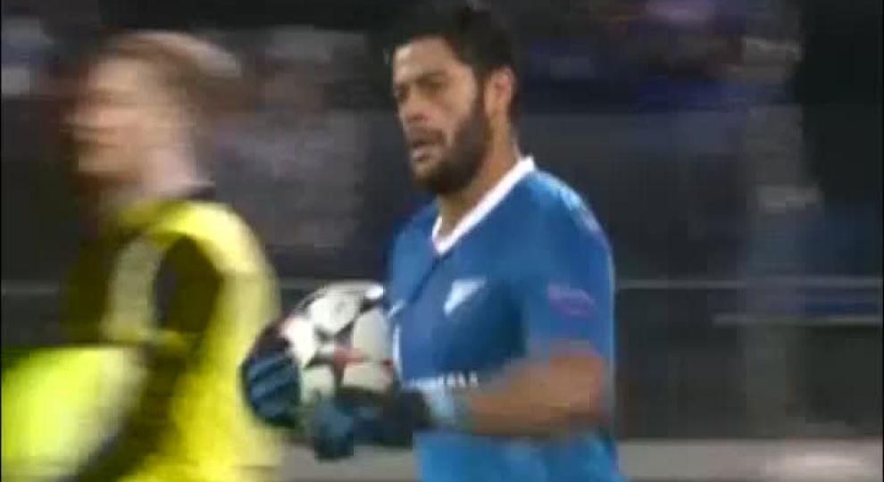 Видео гола халка в матче с боруссия