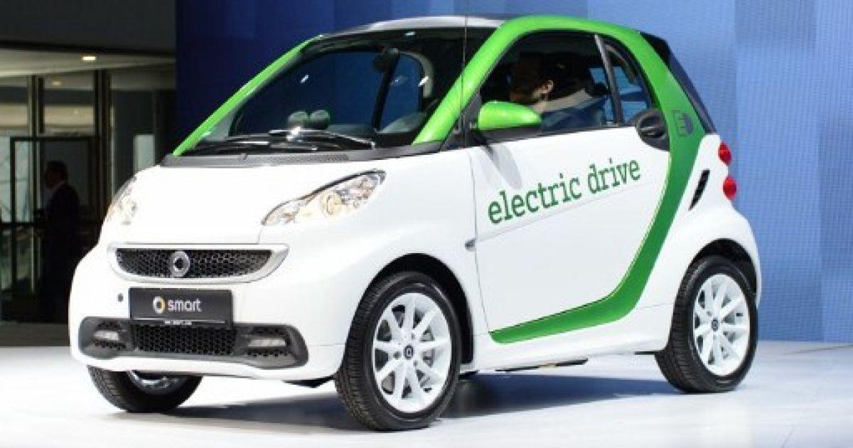 Електрокар Smart @ AFP