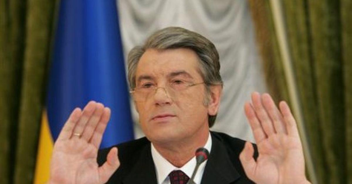 Віктор Ющенко не пройшов до Верховної Ради @ Сегодня