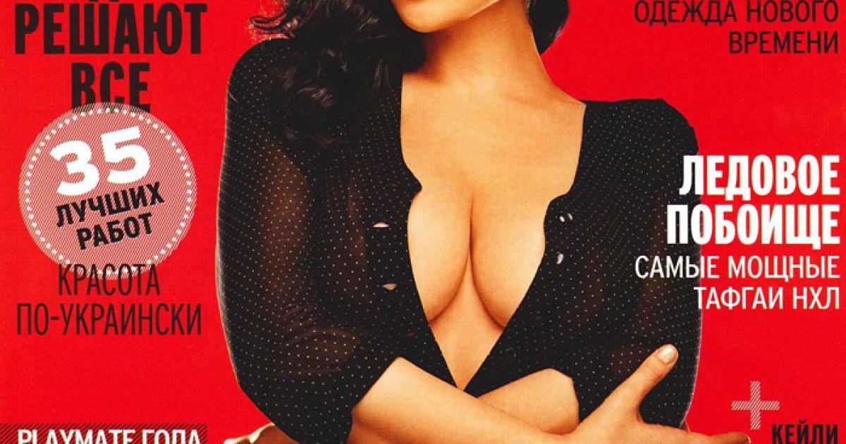 Евгения Диордийчук в украинском апрельском Playboy @ Playboy