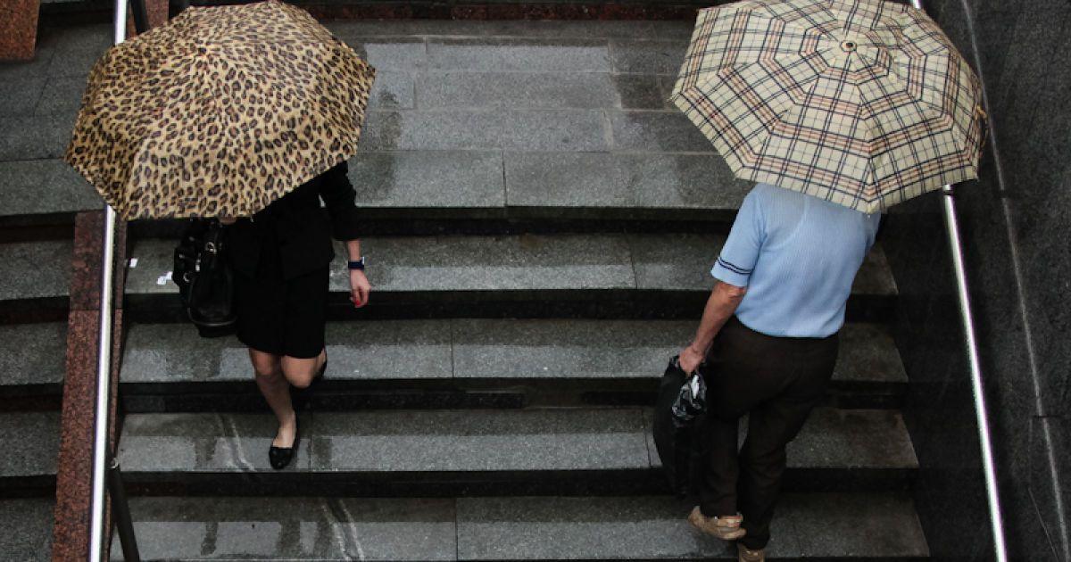 По Украине объявлено штормовое предупреждение: грозовые дожди, шквалы и существенное похолодание