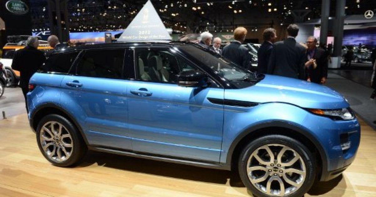 Range Rover Evoque отримав премію за найкращий дизайн @ AFP