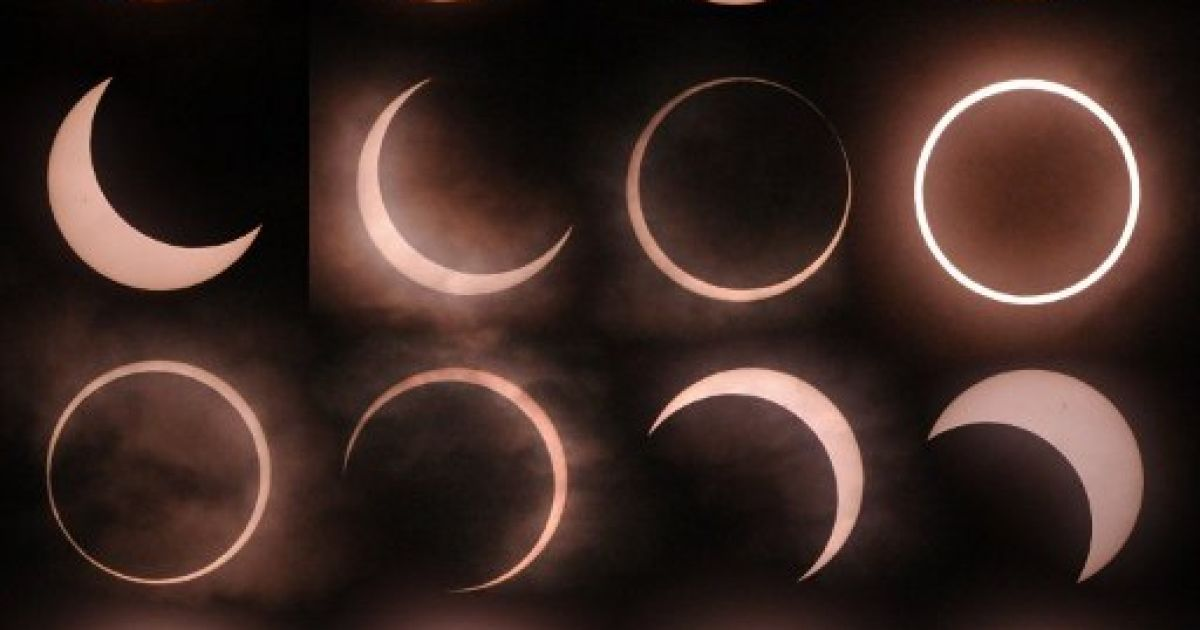 Мешканці Землі побачили кільцеподібне сонячне затемнення @ AFP