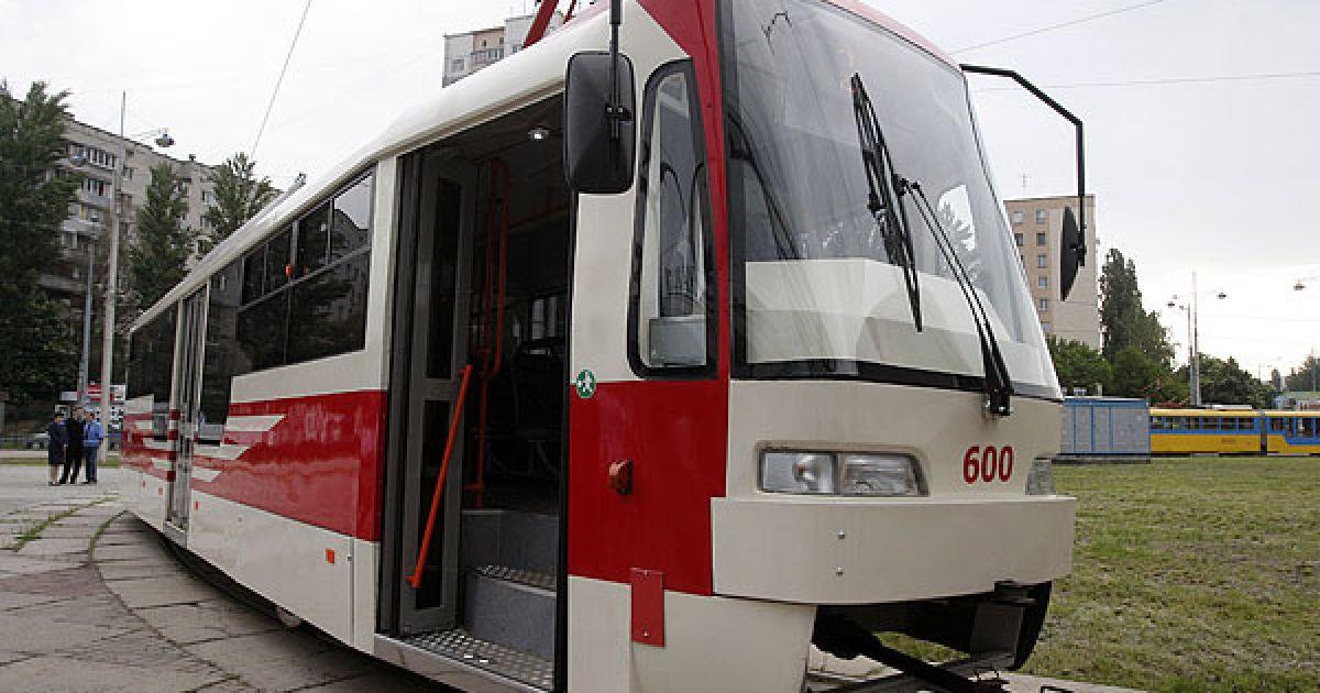 Нові трамваї перевозитимуть людей за старими цінами @ КМДА