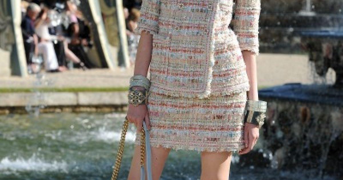 Лагерфельд представив круїзну колекцію Chanel @ Elle
