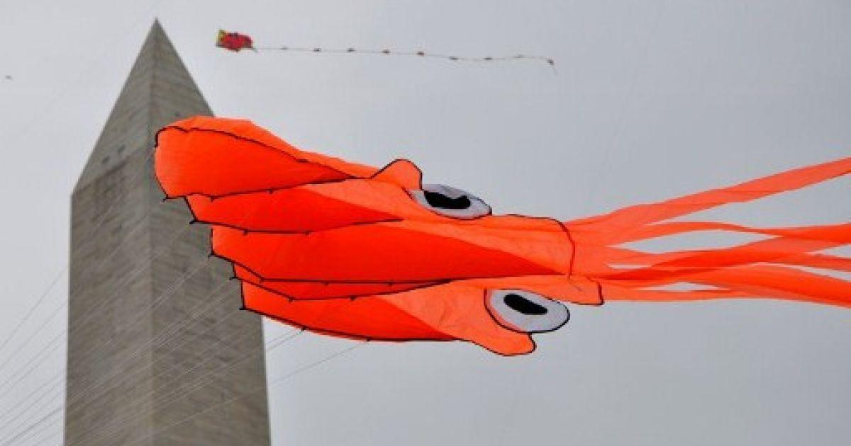 Фестиваль повітряних зміїв у Вашингтоні @ AFP