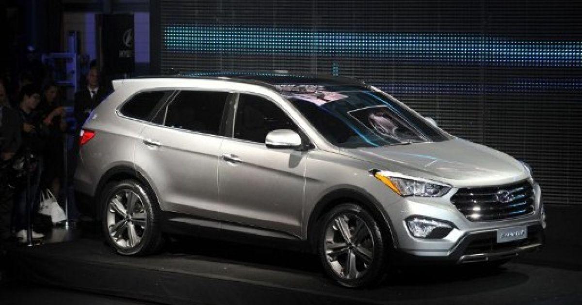 Hyundai Santa Fe Sport SUV @ AFP
