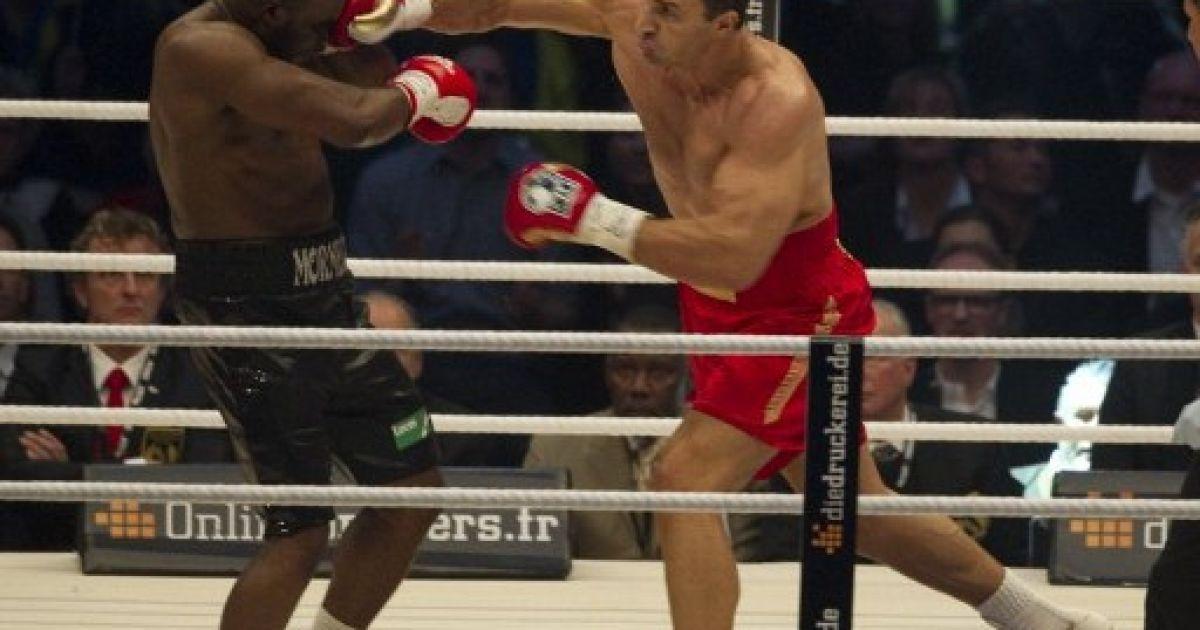 Кличко-молодший виграв 50-й бій нокаутом @ AFP