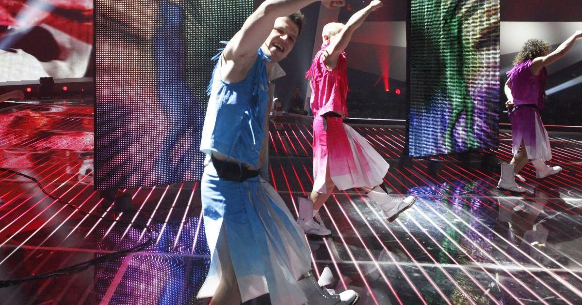 Гайтана провела першу репетиції на сцені Crystal Hall @ eurovision.tv