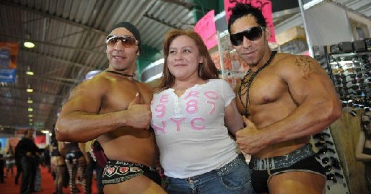 Выставка секс и развлечения в мехико