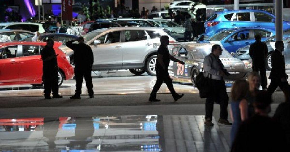 На міжнародному автосалоні в Нью-Йорку обрали найкращий автомобіль 2012 року. @ AFP
