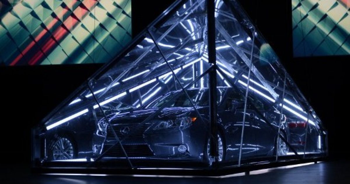 Презентація Lexus ES 350 @ AFP