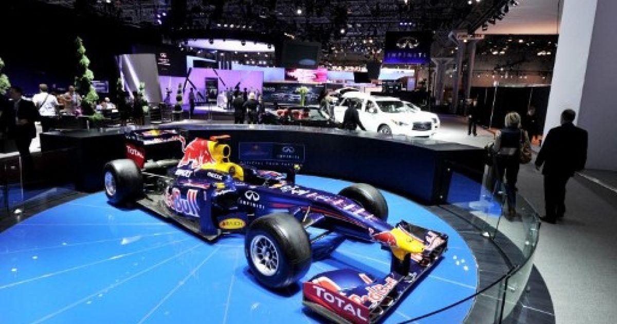 Автомобіль Red Bull Formula 1 @ AFP