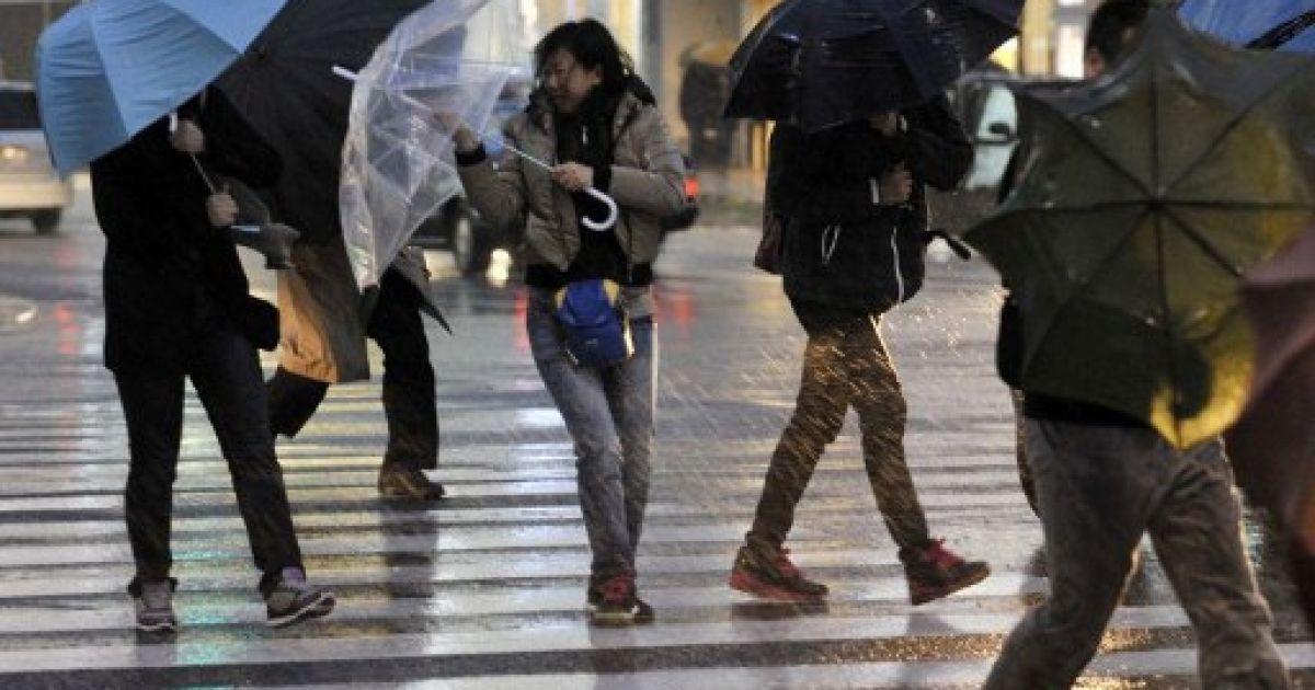 В Токіо вирує найсильніший з 1959 року ураган @ AFP