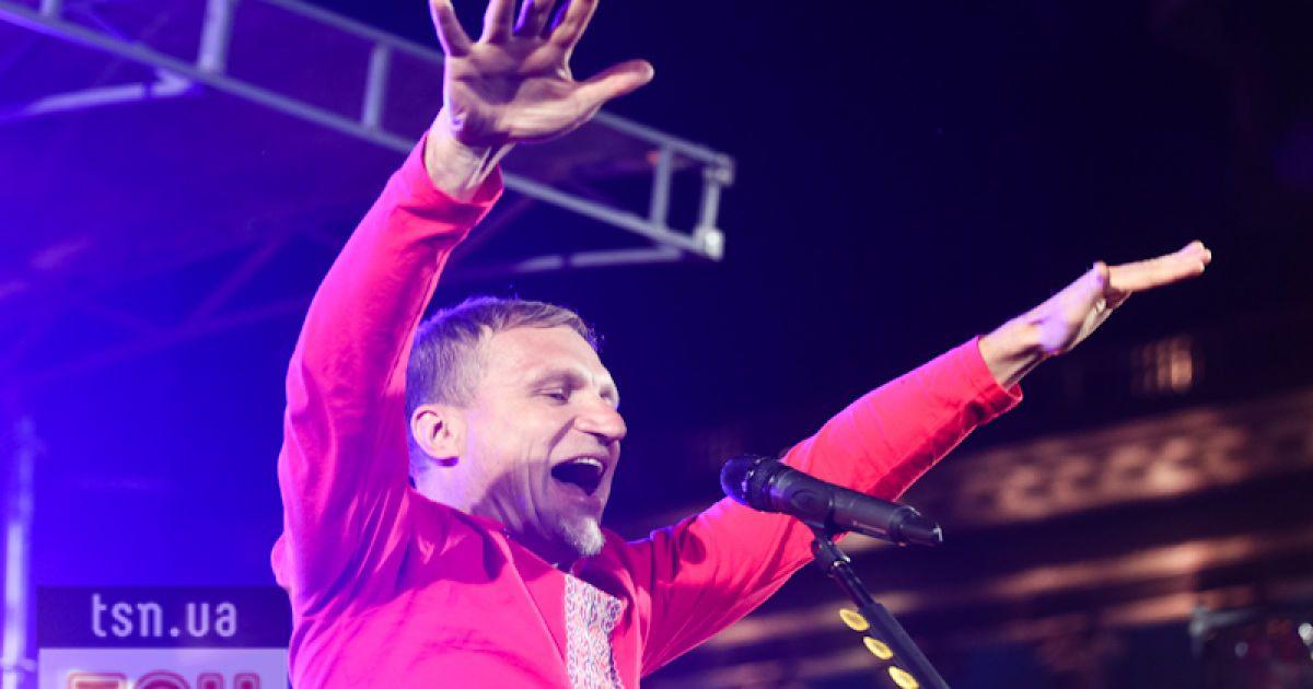 Українські зірки зустріли Кубок Європи з футболу грандіозним концертом @ Євген Малолєтка/ТСН.ua