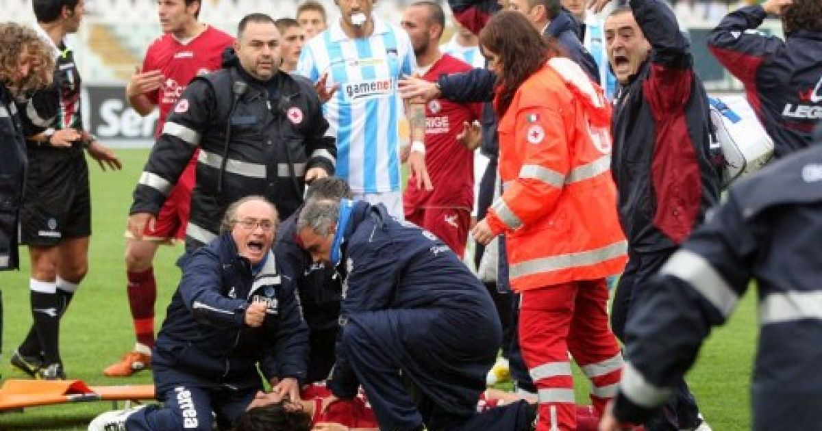 Пьєрмаріо Морозіні помер від серцевого нападу @ AFP