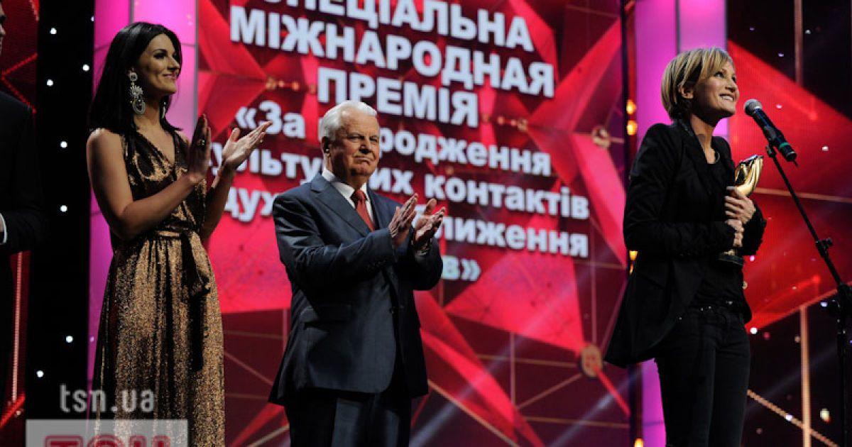 Патрісія Каас, Марія Єфросиніна, Леонід Кравчук