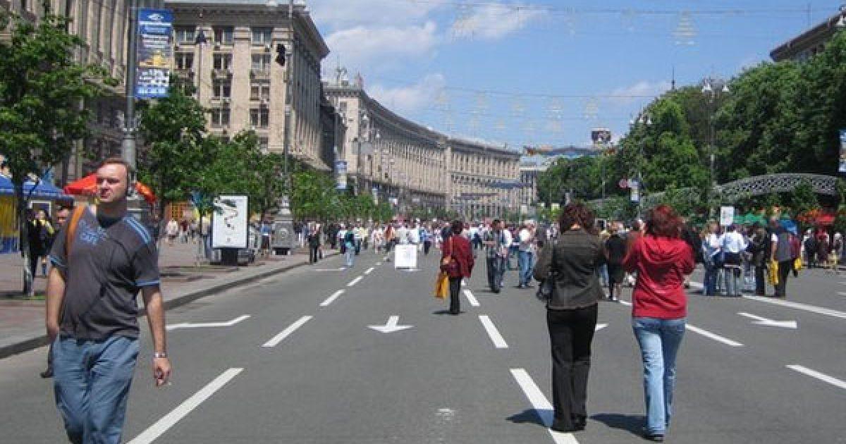 В Киеве перекроют центр города из-за празднования Дня независимости. Полный список улиц
