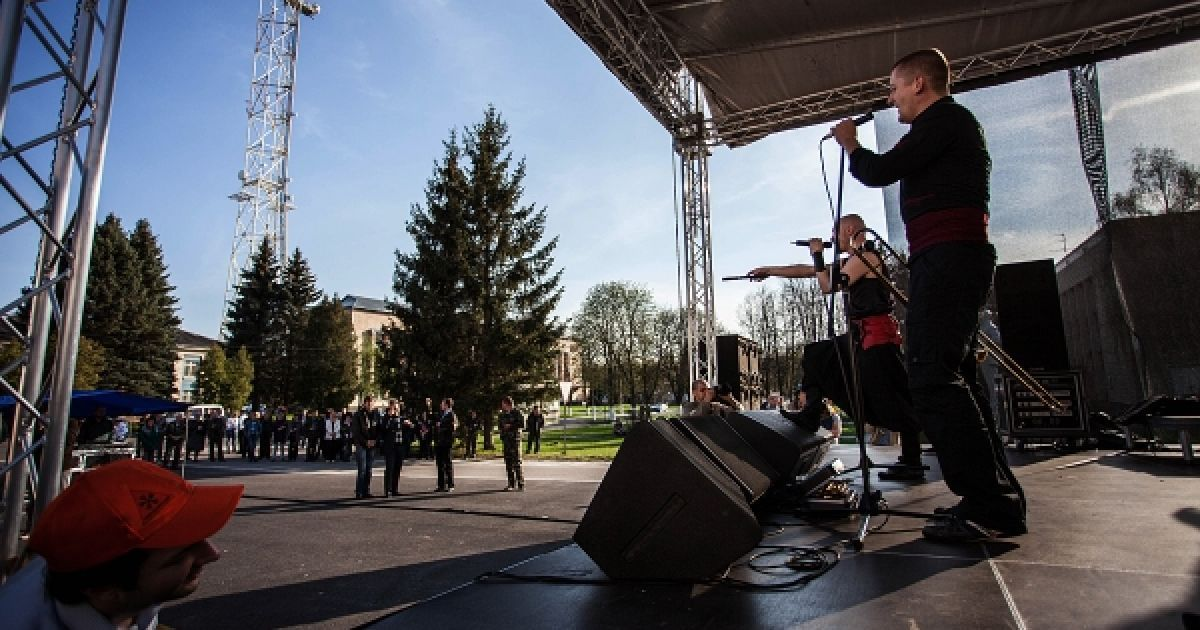 """""""Гайдамаки"""" зіграли концерт у Чорнобилі @ Антон Юхименко"""