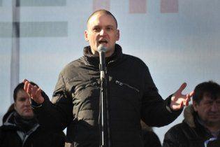 Один із лідерів пенсійних протестів у Росії припинив сухе голодування у в'язниці