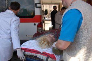 Оксану Макар милиционеры сначала приняли за бомжиху