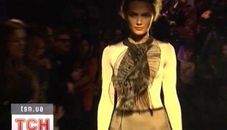 Неофициальное открытие Украинской недели моды сыграли вчера