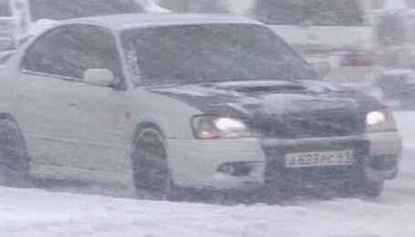 Росію накрили сильні снігопади й хуртовини