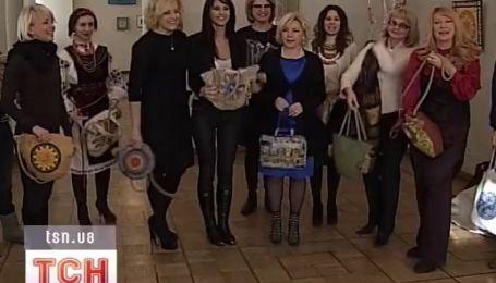 Дефиле с эко-сумками