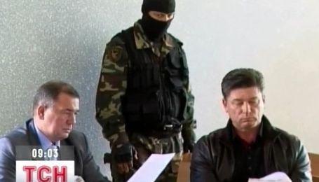 Объявление приговора бывшему мэру Новомосковска