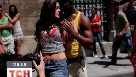 Маша Собко на Кубе зажигла со смуглым красавцем