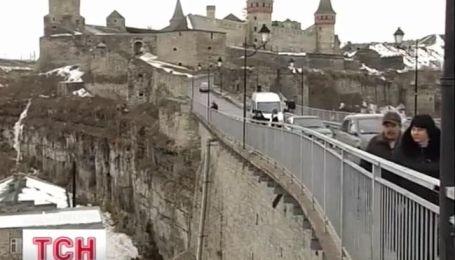 В Каменец-Подольском женщина прыгнула с Турецкого моста