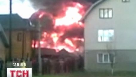 Пожар в Ивано-Франковске
