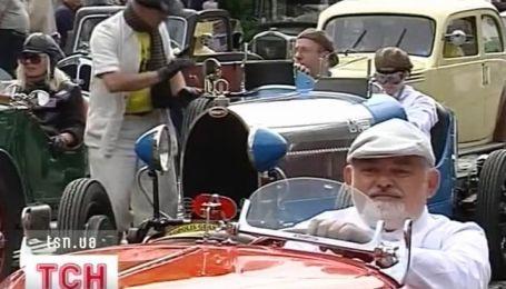 Во Львове прошли уникальные гонки ретро-автомобилей