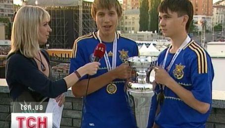 Финал Евро-2012 для детей