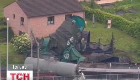 В Бельгии - авария на железнодорожных путях неподалеку Брюсселя