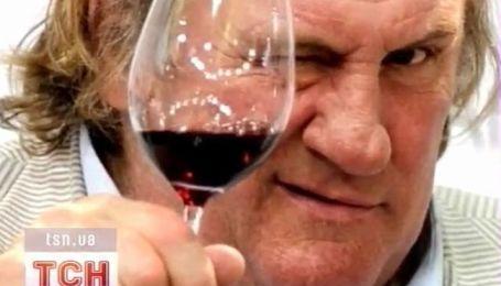 Жерар Депардье налаживает винный бизнес в Крыму