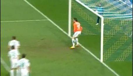 Арсенал - Оболонь - 1:0. Перший гол Одібе