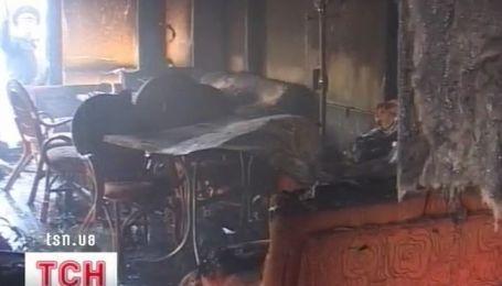 В Николаеве сгорел один из самых старых клубов