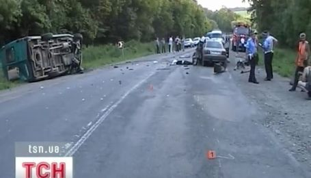 Крупная авария на Буковине