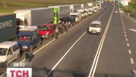 Польские таможенники начали бессрочную забастовку