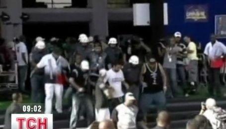 Бразильский карнавал завершился погромами