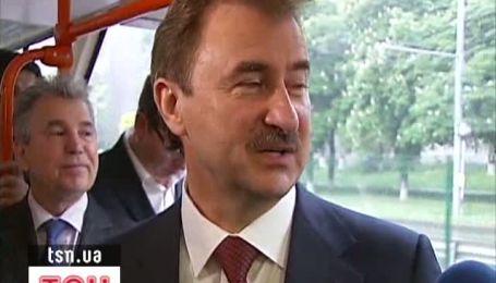 Попов порушує ПДР лише за містом