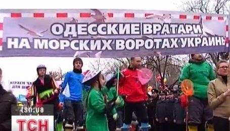 Первоапрельская юморина в Одессе