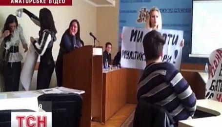 """""""Кефірний"""" скандал у Сумах"""