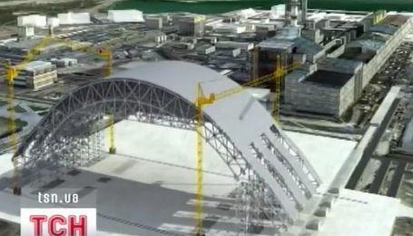 В Чорнобильській зоні розпочали зводити арку нового укриття