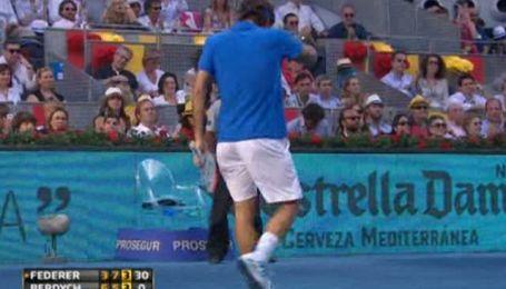 """Федерер победил в турнире серии """"Мастерс-1000"""" в Мадриде"""