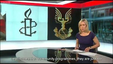 BBC показало замість прапора ООН лого комп'ютерного шутера